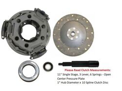11 Clutch Kit Ford Tractor 2000, 2300, 2310, 2610, 2810, 2910, 3000, 3310, 3610