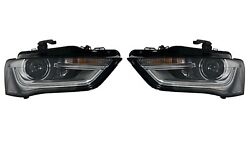 New Pair Set 2 Genuine Bi-xenon Headlights For A4 With Curve Light Adjustment Vw