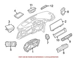 For Bmw Genuine Video Monitor 65509270393
