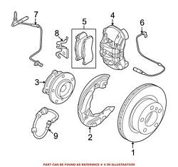 For Bmw Genuine Disc Brake Caliper Front Right 34106786060