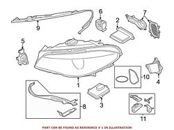 For BMW Genuine Headlight Front Left 63117352473