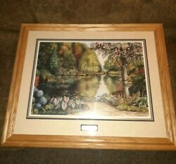Reduced - Framed. Signed And Numbered-limited Edition Print By Leanne Hanson 1998