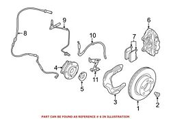 For Bmw Genuine Disc Brake Caliper Front Right 34116865538