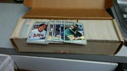 Tops Baseball Cards Tops Collectable Baseball Cards 80and039s