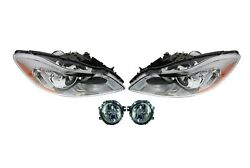 Left And Right Genuine Xenon Headlights Headlamps And Fog Light Kit For Volvo C30