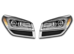 Left And Right Genuine Headlights Headlamps With Hid Projector Beam Pair Set Gm