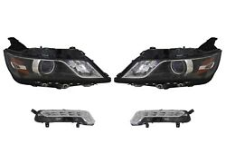 Left And Right Genuine Headlights Headlamps No Hid And Fog Lights Kit For Chevy Gm
