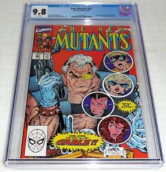 New Mutants 87 Cgc Universal Grade Comic 9.8 1st Appearance Of Cable Marvel Pow