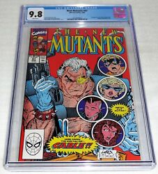 New Mutants 87 1st Cable Appearance Cgc Universal Grade Comic 9.8 Marvel Pow