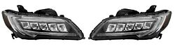 New Left And Right Genuine Headlights Headlamps Pair Set For Acura Rdx 2016-2018