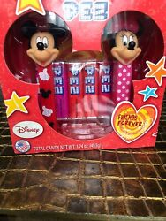Pez Valentine Gift Set Disney Couples 1.74 Ounce Cartoon Characters Current