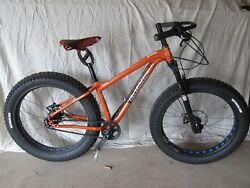 Ventana El Gordo (small) with Gates Belt Drive and 50014 XL Rohloff
