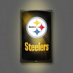 Pittsburgh Steelers Motiglow Light Up Sign Motion Activated Premium Lamp Night