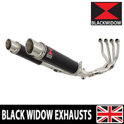 Kawasaki Z900rs And Cafe 4-2 De-cat Race Exhaust System + Mufflers Round Bg35r
