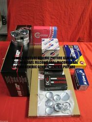 Toyota 4y Forklift Engine Kit Pistons Rings Gaskets Bearings Chain + Tensioner