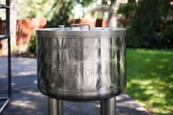 65 Gallon Stainless Steel Open Top Cold Brew Coffee Tank by CoffeeWorks Inc.