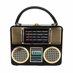 Radio Acrylic Box Clutch Women Shoulder Totes Bag Crossbody Handbag Evening Bag $36.99
