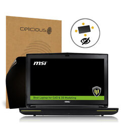 Celicious Privacy Plus MSI Workstation WT72 6QM [360°] Anti-Spy Screen Protector