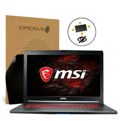 Celicious Privacy Plus MSI GV72VR 7RF [360°] Anti-Spy Screen Protector
