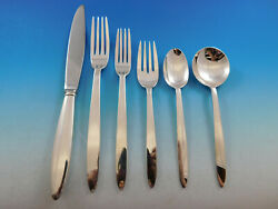 Sonata By Reed And Barton Sterling Silver Flatware Set 38 Pcs Dinner Rare Scarce