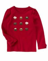 Nwts Sz 5 Gymboree Sweet Treats Cupcakes and Bon Bons Candy Chocolate Top  $12.00