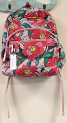 Vera Bradley back pack and wallet 2 piece lot NWT   Floral pattern