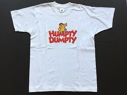 90s Deadstock New Humpty Dumpty Potato Chip T Shirt Single Stitch Size Xl Cotton