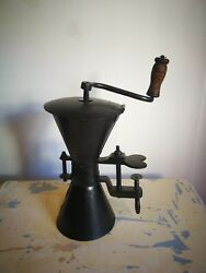 French Antique Wedding Hourglass Coffee Grinder Table N2