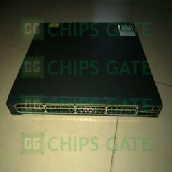 1pcs Used Cisco Ws-c2960s-48lps-l Tested In Good Conditon Fast Ship