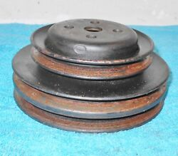1966 1967 68 Ford Mustang Gt Fairlane Cougar Orig 289 T/e 3-g Water Pump Pulley