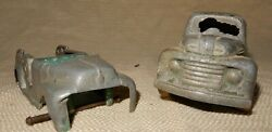 Antique Or Vintage Firetruck And Pickup Toy Trucks
