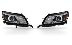 Left And Right Genuine Headlights Headlamps With Hid Pair Set For Chevrolet Malibu