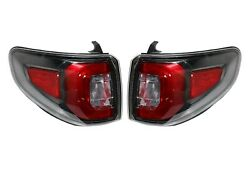 Left And Right Outer Genuine Tail Brake Lights Lamps Pair Set For Gmc Acadia 13-16