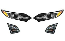 Left Right Genuine Hid Headlights Headlamps Fog Lamps Kit For Chevy Equinox Gm