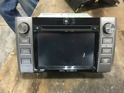 2015 Toyota Tundra Display And Receiver Am Fm Cd Oem 14 15