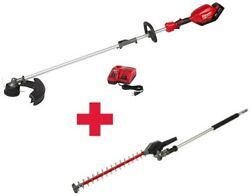 Milwaukee M18 String Trimmer 18-volt Brushless Cordless Hedge Trimmer Attachment