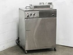 Esma Automatic Heated Ultrasonic Cleaner 6.5 Gallon Tank with Castors (E789)