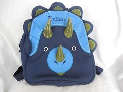 Pottery Barn Kids Classic Critter Dinosaur Backpacks Preschool quot;Kellanquot; NWOT $24.95