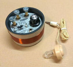 Crystal Radio Set Am Mw With Crystal Earpiece Germanium Diode Variable Capacitor
