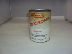 Vintage Advertising Conoco One Quart Oil Can Full  X-751