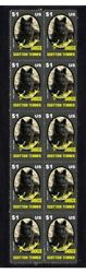 SCOTTISH TERRIER PBREED DOGS STRIP OF 10 MINT VIGNETTE STAMPS 2