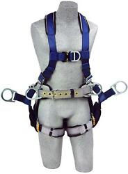 3m Dbi-sala Exofit 1108652 Tower Climbing Harness, Front/back/side D-rings,...