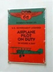 Phillips 66 Porcelain Sign Airplane Ande Rooney