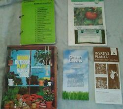 The Basic, Illustrated Indoor/Outdoor Plant & Garden Guide PLUS Extras *VINTAGE*