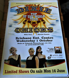 Dixie Chicks Original 2003 Tour Poster Huge Billboard 1.5mx1m Country Music Band