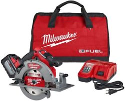 Milwaukee M18 Circular Saw 7-1/4 In. 18v Li-ion Brushless 12.0ah Battery Charger