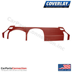 Coverlay - Dash Cover Red 10-515ll-rd 04-15 For Nissan Titan