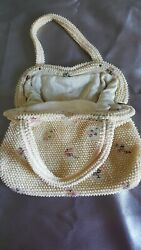 Lot of vintage pearl clutches handbags $35.88
