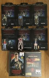 "Stranger Things Complete Set of 6 SIX 3.75"" Action Figures & Seasons 1 & 2!"