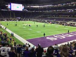 4 · MINNESOTA VIKINGS 2019 ULTIMATE FAN ZONE CLUB SEASON TICKETS + PSL